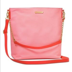 Juicy Couture Pink & Red Crossbody Bag